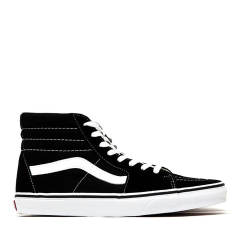 Vans Sk8-Hi Black/White Suede/Canvas