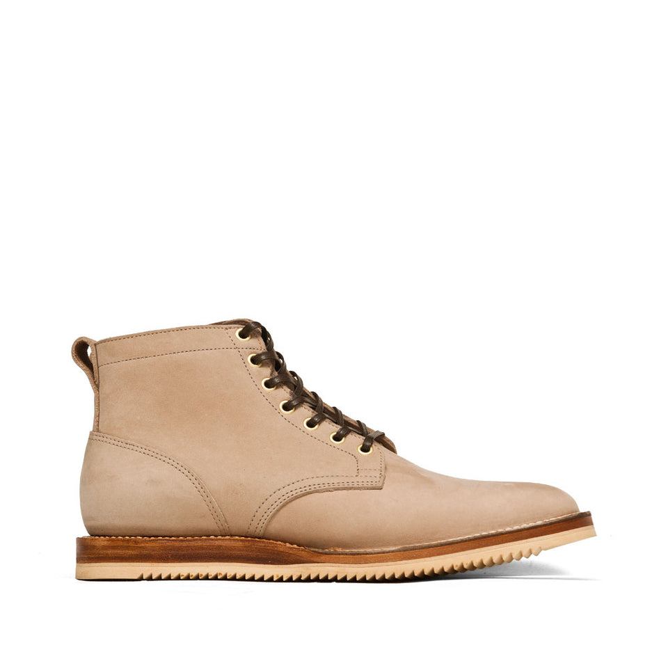 Viberg Bone Chamois Service Boot at shoplostfound, side