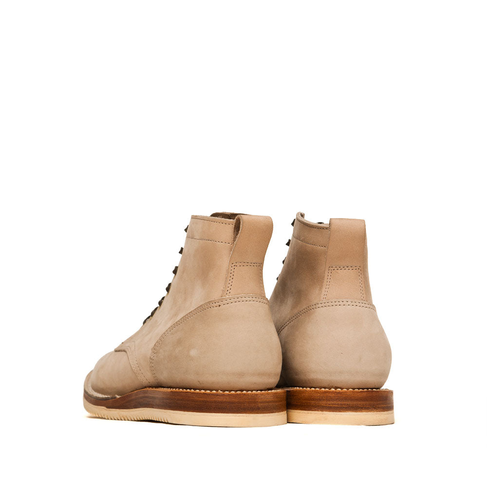 Viberg Bone Chamois Service Boot at shoplostfound, back
