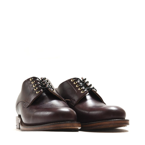 Viberg Colour 8 Chromexcel Derby Shoe at shoplostfound in Toronto, profile