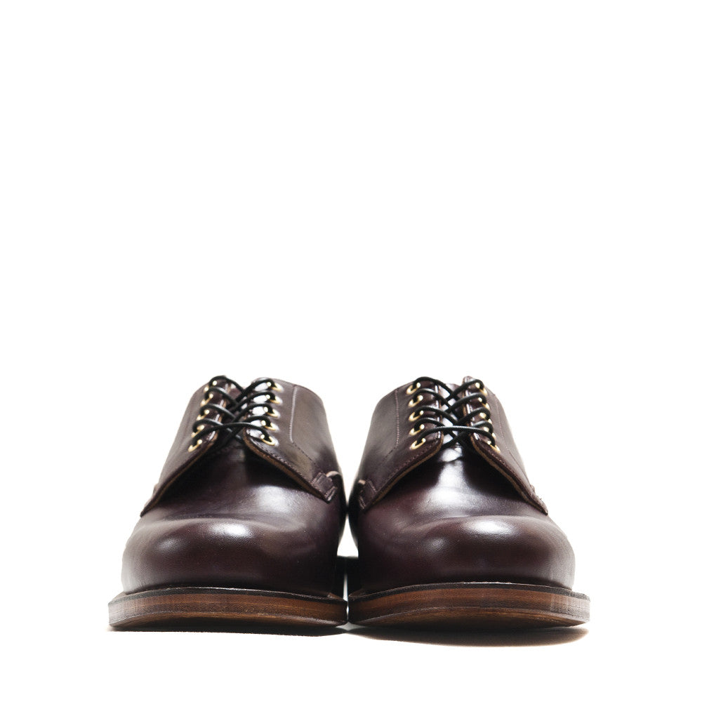 Viberg Colour 8 Chromexcel Derby Shoe at shoplostfound in Toronto, front