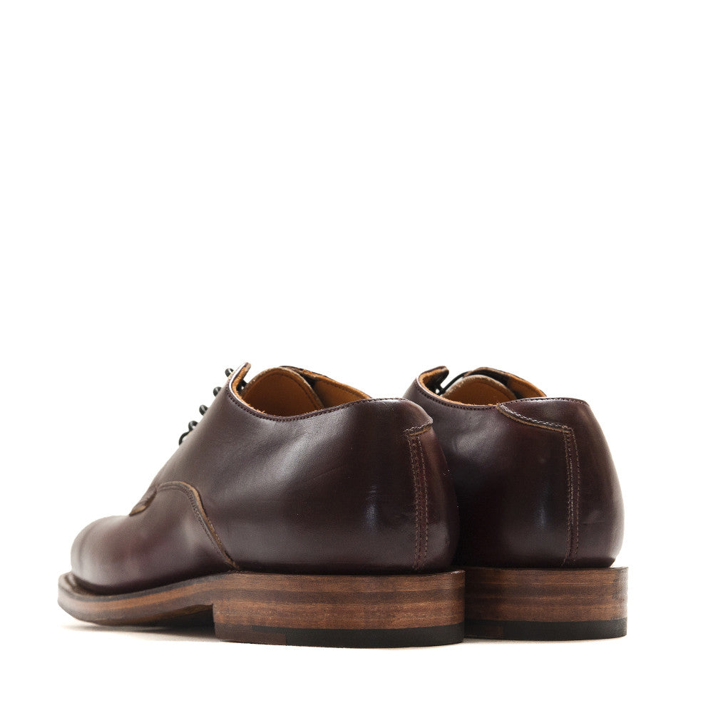 Viberg Colour 8 Chromexcel Derby Shoe at shoplostfound in Toronto, back