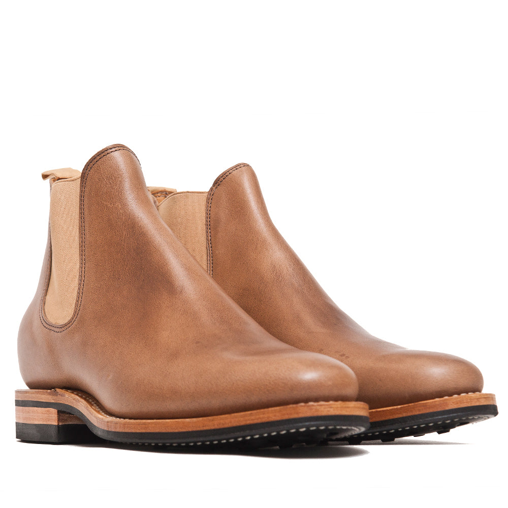 Viberg Natural Chromexcel Chelsea Boot at shoplostfound, 45