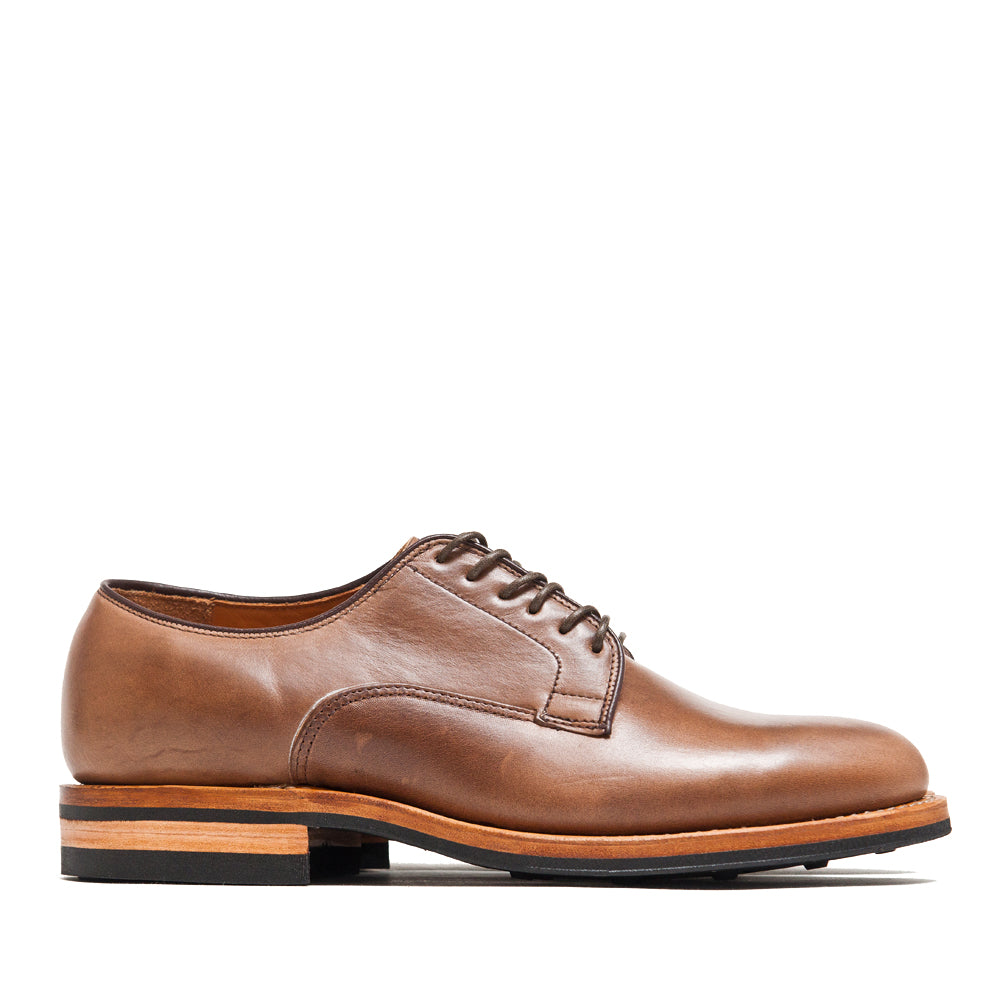 Viberg Natural Chromexcel Derby Shoe at shoplostfound, side
