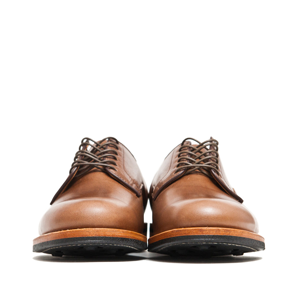 Viberg Natural Chromexcel Derby Shoe at shoplostfound, front
