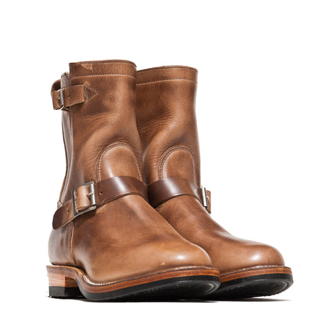 Viberg Natural Chromexcel Engineer Boot at shoplostfound, side