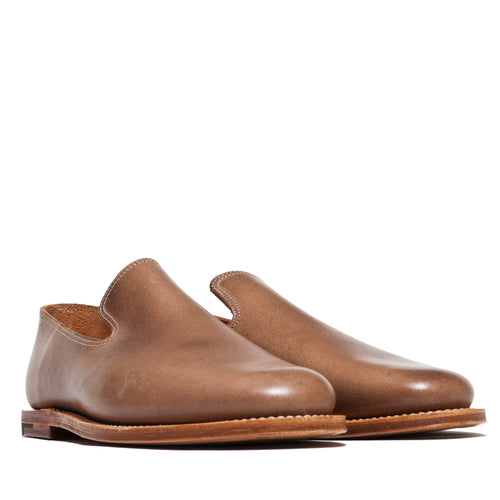 Viberg Natural Chromexcel Slippers at shoplostfound, 45