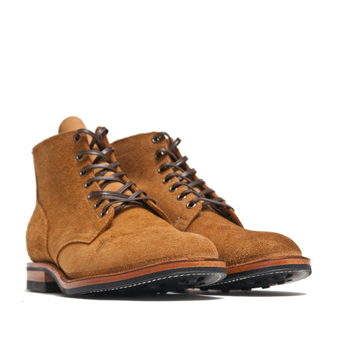 Viberg Sand Nubuck Service Boot at shoplostfound, side