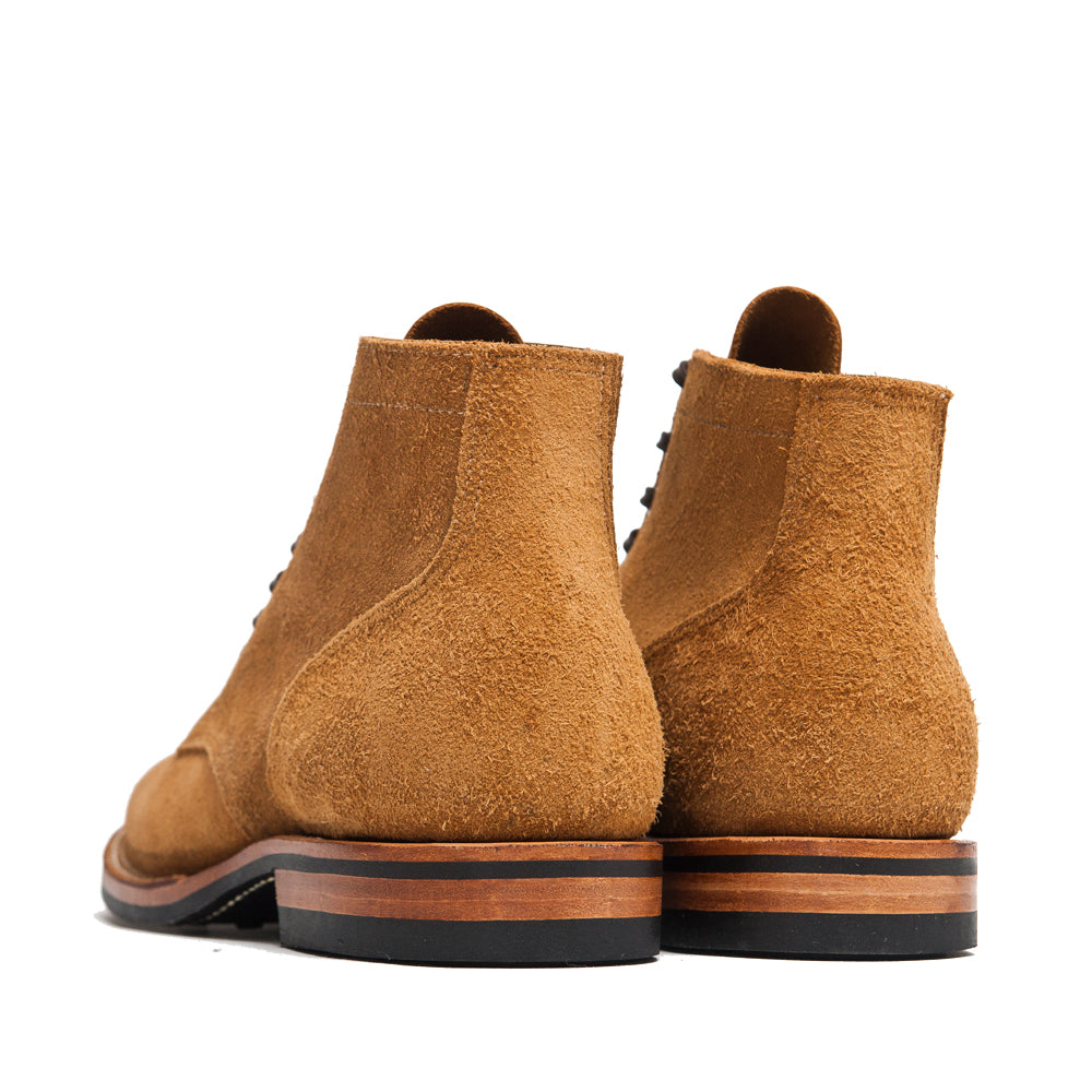 Viberg Sand Nubuck Service Boot at shoplostfound, back