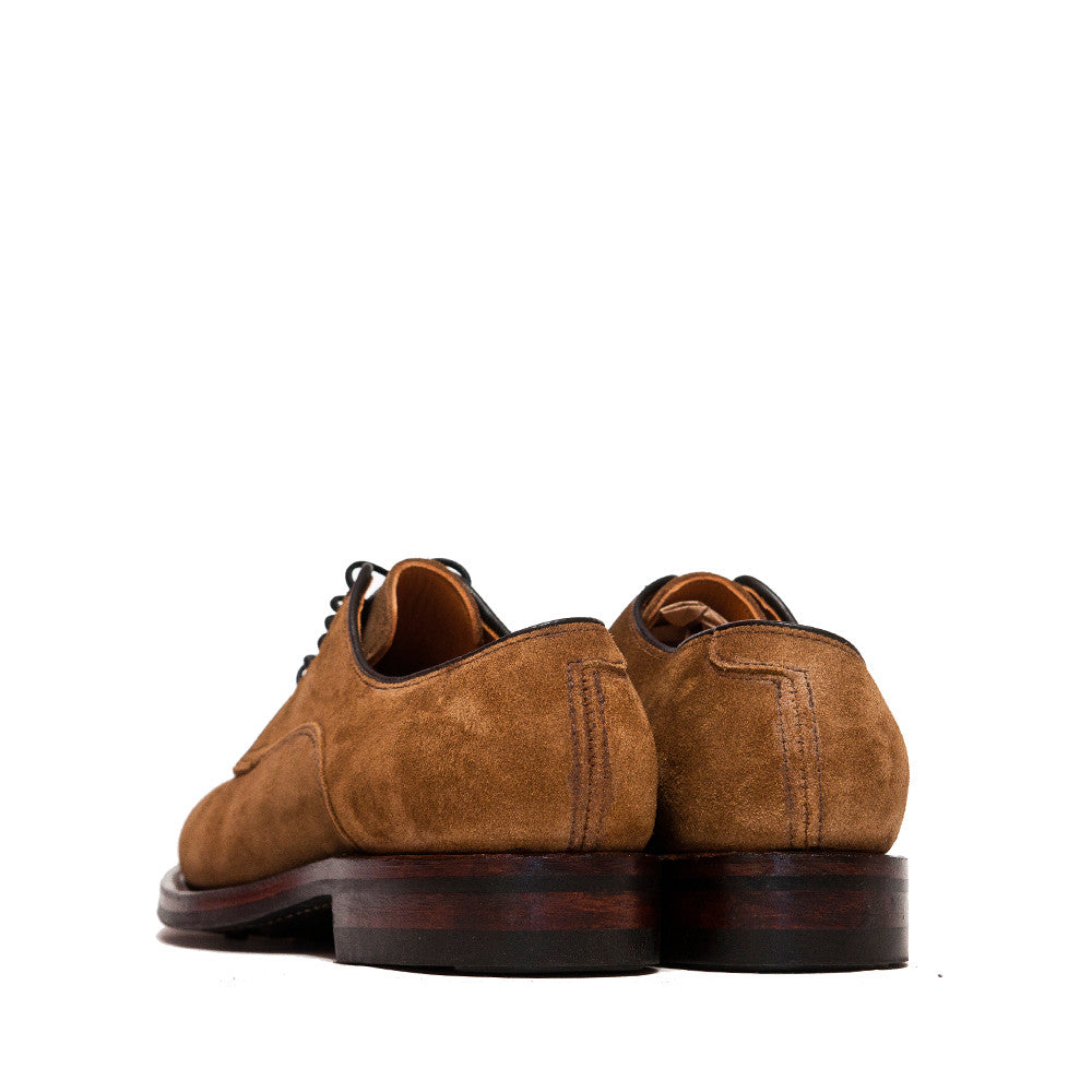 Viberg Snuff Suede Derby Shoe at shoplostfound, back