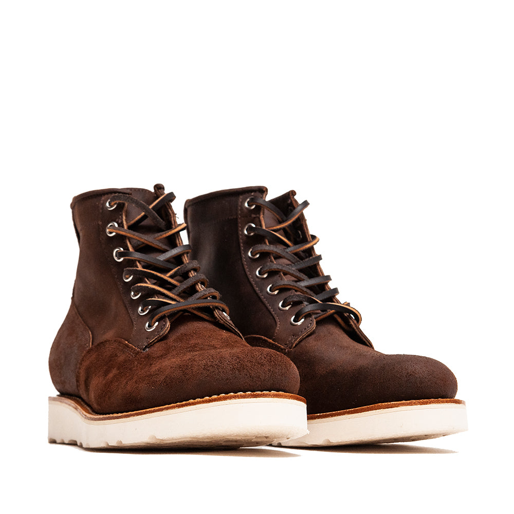 Viberg Tobacco Reverse Chamois Roughout Scout Boot at shoplostfound, 45