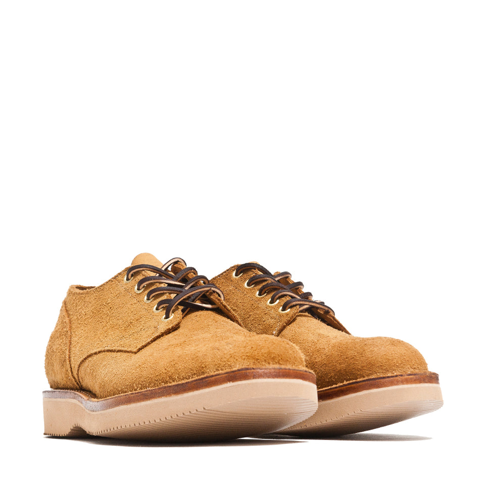 Viberg Wheat Oxford Roughout at shoplostfound, 45
