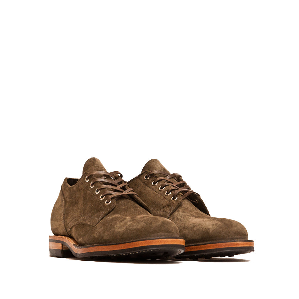 Viberg Zabri Clove Calf Suede 145 Oxford Shoe at shoplostfound, 45