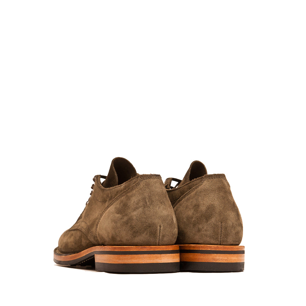 Viberg Zabri Clove Calf Suede 145 Oxford Shoe at shoplostfound, back