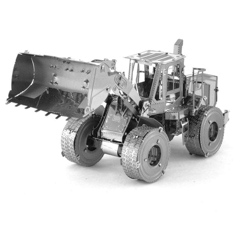 Fascinations Metal Earth CAT Wheel Loader 3D DIY Steel Model Kit