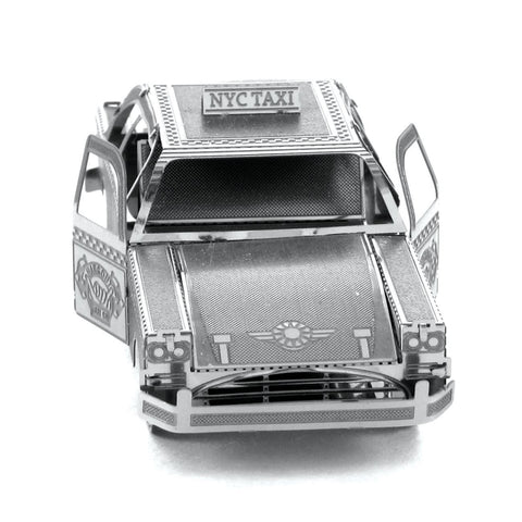 Wincent Checker Cab 3D Metal Puzzle Model