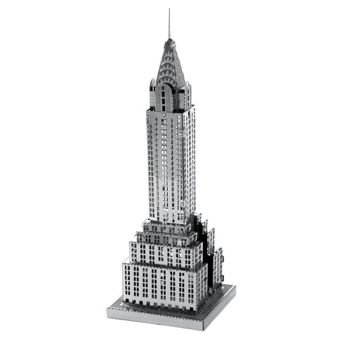 Wincent Chrysler Building 3D Metal Puzzle Model