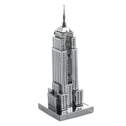 Fascinations Metal Earth Empire State Building 3D DIY Steel Model Kit