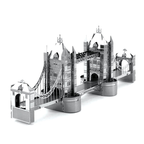 Fascinations Metal Earth London Tower Bridge 3D DIY Steel Model Kit