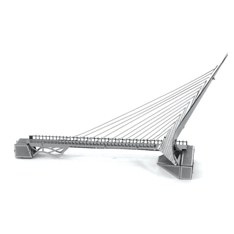 Wincent Sundial Bridge 3D Metal Puzzle Model