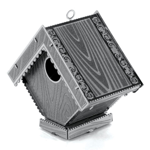 Fascinations Metal Earth Bird House 3D DIY Steel Model Kit