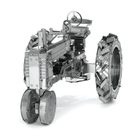 Fascinations Metal Earth Farm Tractor 3D DIY Steel Model Kit