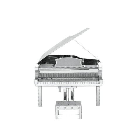 Fascinations Metal Earth Musical Instruments Grand Piano 3D DIY Steel Model Kit