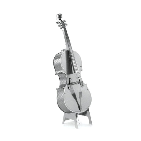 Fascinations Metal Earth Musical Instruments Bass Fiddle 3D DIY Steel Model Kit