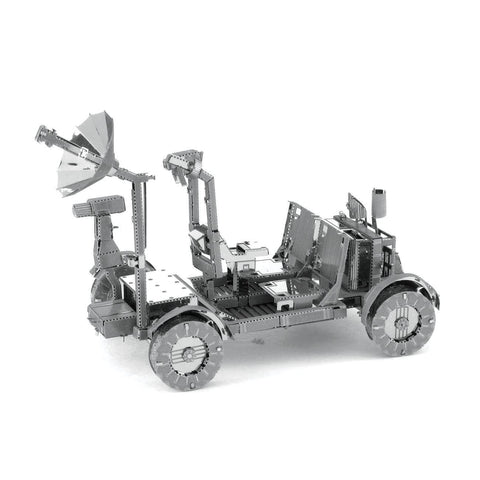 Fascinations Metal Earth Apollo Lunar Rover 3D DIY Steel Model Kit