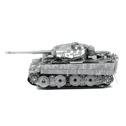 Fascinations Metal Earth Tiger I Tank 3D DIY Steel Model Kit