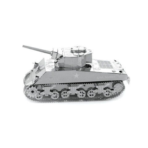 Fascinations Metal Earth Sherman Tank 3D DIY Steel Model Kit