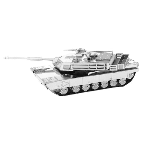 Fascinations Metal Earth M1 Abrams Tank 3D DIY Steel Model Kit