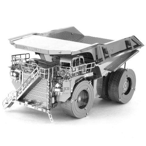 Fascinations Metal Earth CAT Mining Truck 3D DIY Steel Model Kit