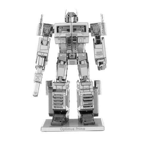 Fascinations Metal Earth Transformers Optimus Prime 3D DIY Steel Model Kit