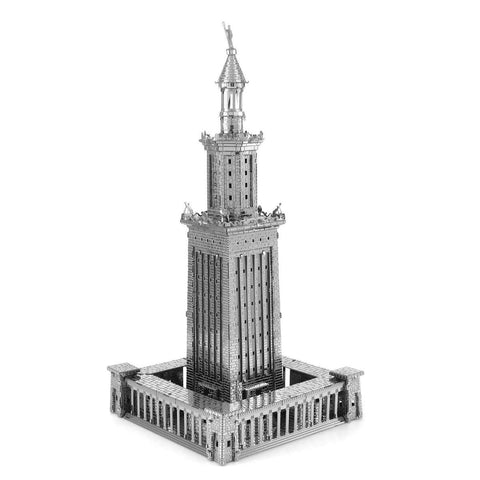 Fascinations Metal Earth Iconx Lighthouse Of Alexandria 3D DIY Steel Model Kit