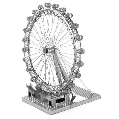 Wincent Metal Earth Iconx London Eye 3D DIY Steel Model Kit