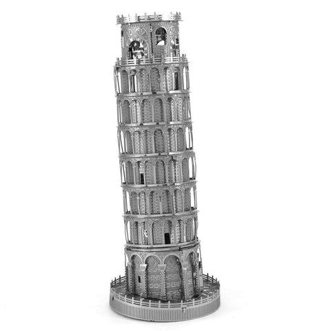 Fascinations Metal Earth Iconx Leaning Tower Of Pisa 3D DIY Steel Model Kit