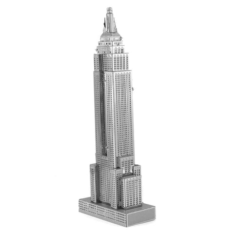 Fascinations Metal Earth Iconx Empire State Building 3D DIY Steel Model Kit