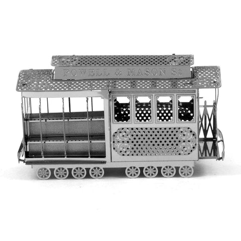 Wincent Cable Car 3D Metal Puzzle Model