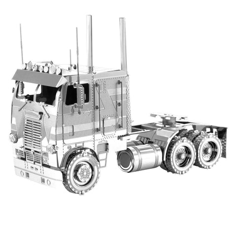 Fascinations Metal Earth Freightliner COE Truck 3D DIY Steel Model Kit