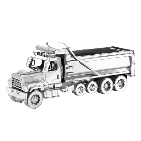 Fascinations Metal Earth Freightliner 114SD Dump Truck 3D DIY Steel Model Kit