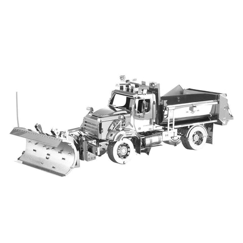 Fascinations Metal Earth Freightliner 114SD Snow Plow 3D DIY Steel Model Kit