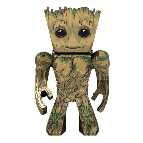 Fascinations Metal Earth: Guardian's of the Galaxy, Groot DIY Kit