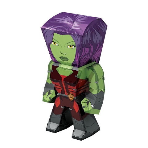 Fascinations Metal Earth Legends Marvel Guardians Of The Galaxy Gamora 3D DIY Steel Model Kit