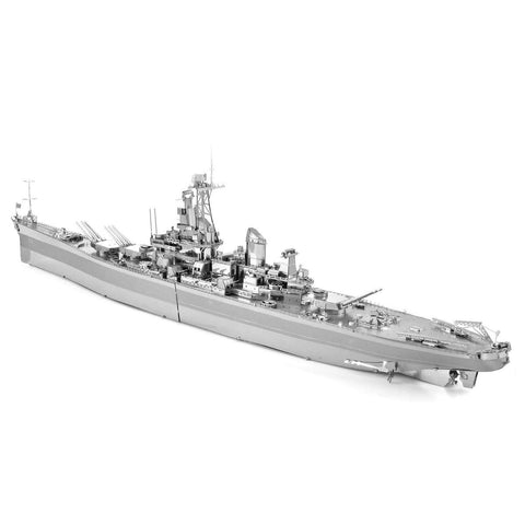 Fascinations Metal Earth Iconx USS Missouri 3D DIY Steel Model Kit