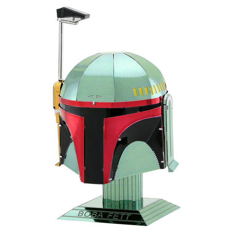 Fascinations Metal Earth Star Wars Boba Fett Helmet 3D DIY Steel Model Kit