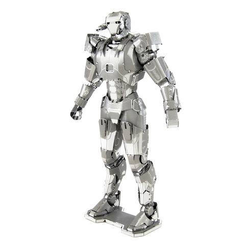 Wincent Iron Man Silver 3D Metal Puzzle Model MWCT081