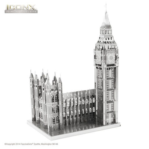 Fascinations Metal Earth Iconx Big Ben 3D DIY Steel Model Kit