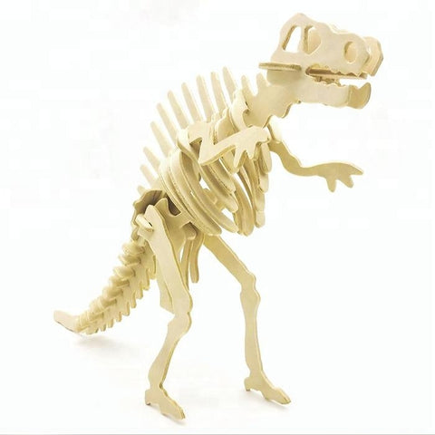 Wincent Dinosaur Series Spinosaurus 3D Wood Puzzle Model