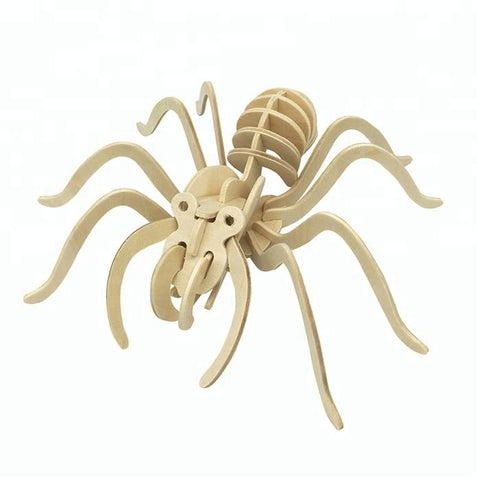 Wincent Insect Series Spider 3D Wood Puzzle Model